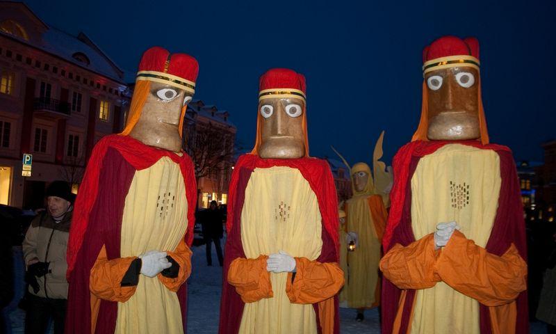 Trys karaliai. Herkaus Milaševičiaus nuotr.