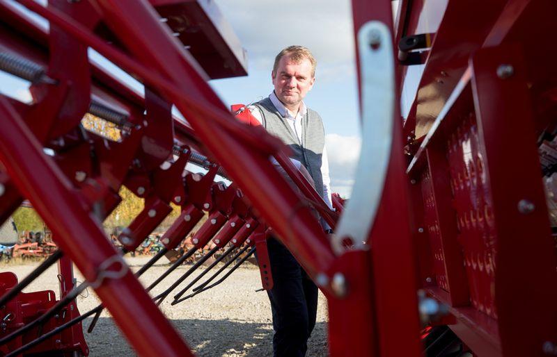"""Arūnas Maziukas, UAB """"Agrotaka"""" direktorius: """"Detales parduoti sugebėjo daugelis, bet kai reikėjo ūkininkus pakonsultuoti, pardavėjai nematydavo visumos. Arba nenorėdavo matyti."""" Juditos Grigelytės (VŽ) nuotr."""