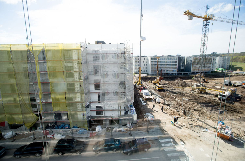 """""""Eika"""": bendras naujų butų kainų augimas lėtės"""