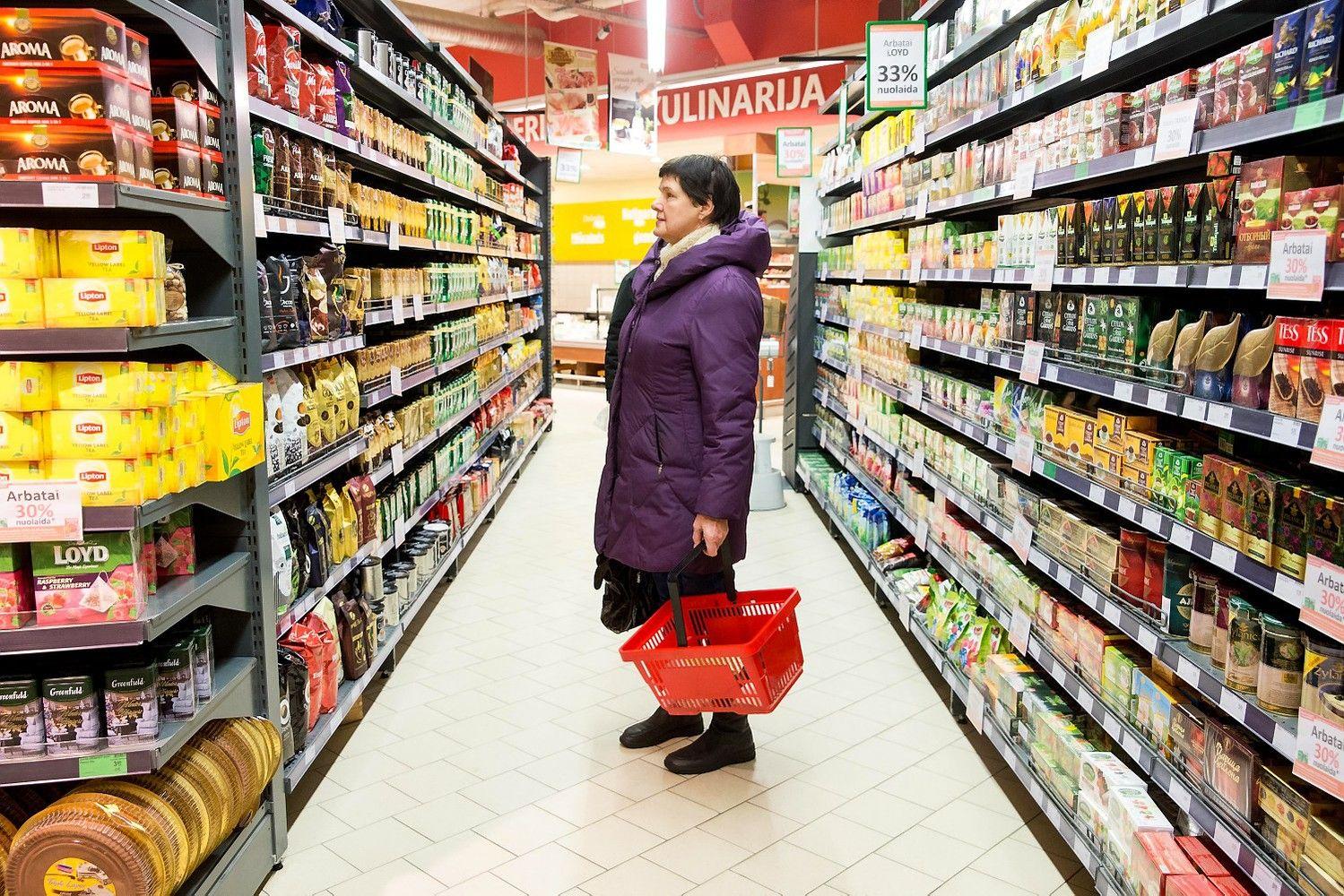 Infliacija Lietuvoje – dvigubai didesnė nei visoje euro zonoje