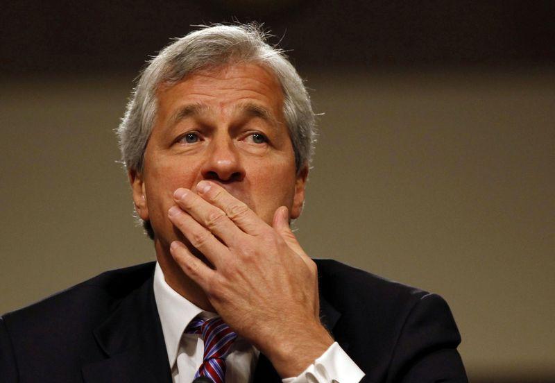 """Jamie Dimonas, """"JP Morgan"""" vadovas. Larry Downing   (""""Reuters"""" / """"Scanpix"""") nuotr."""