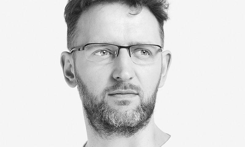 """Algirdas Orantas, dizaino agentūros """"Etiquette"""" partneris, Lietuvos grafinio dizaino asociacijos valdybos narys."""