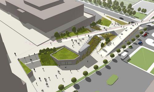 Pateikė viziją, kaip sujungti Libeskindo projektą su Baltuoju tiltu