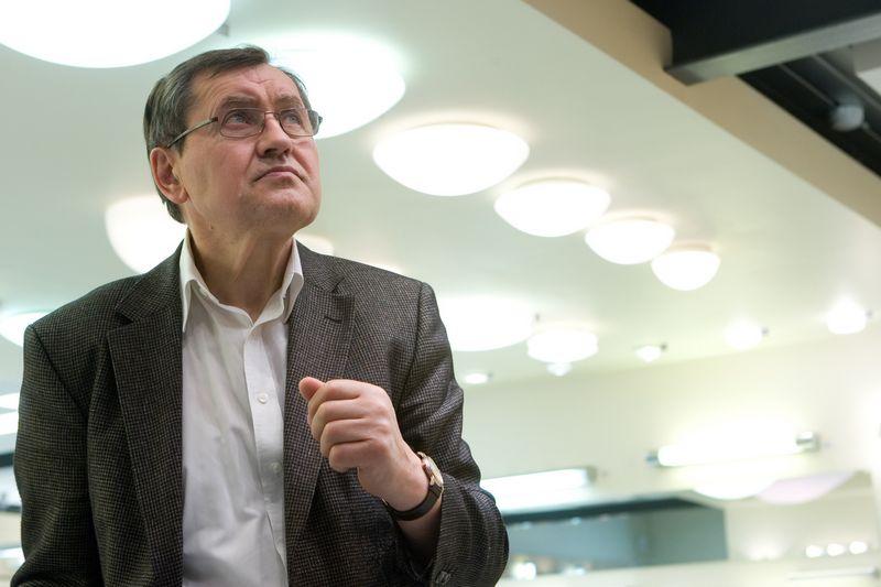 """Vladas Rinkevičius, UAB """"Gaudrė"""" įkūrėjas ir valdybos pirmininkas. Juditos Grigelytės nuotr."""
