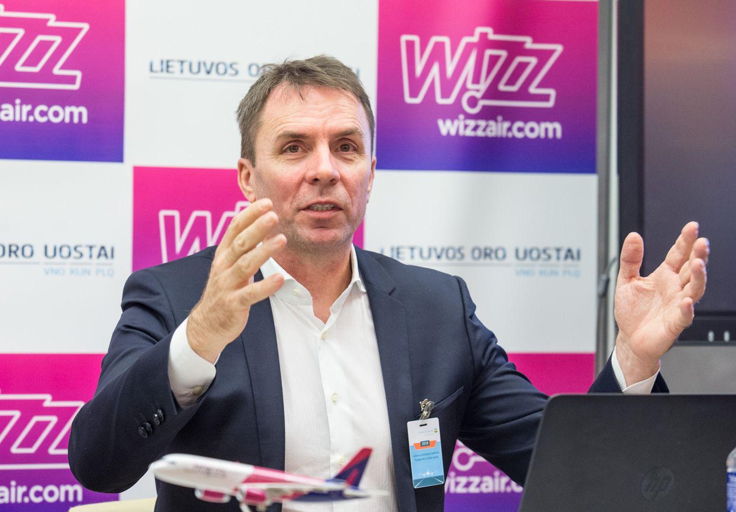 """Ketvirtadalį Lietuvos keleivių pervežusi """"Wizz Air"""" šiemet planuoja 20% augimą"""