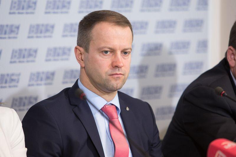 """Dalius Misiūnas, tuometinis """"Lietuvos energijos"""" vadovas, pasitraukė pradėjus tyrimą, kuris dabar nutrauktas. Vladimiro Ivanovo (VŽ) nuotr."""