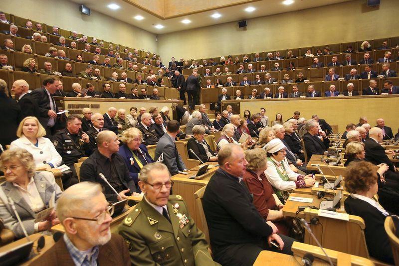 2018-01-13, Iškilmingas Laisvės gynėjų dienos minėjimas ir Laisvės premijos įteikimo ceremonija.