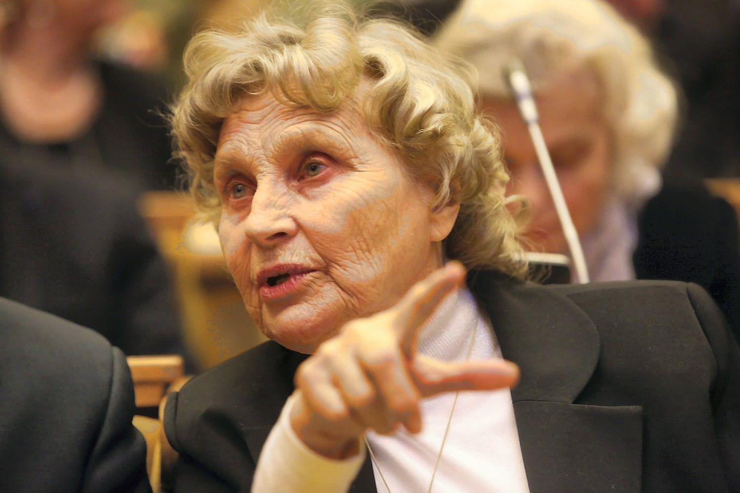 """Laisvės premijos laureatė Nijolė Sadūnaitė: """"Tiesa išlaisvina"""""""