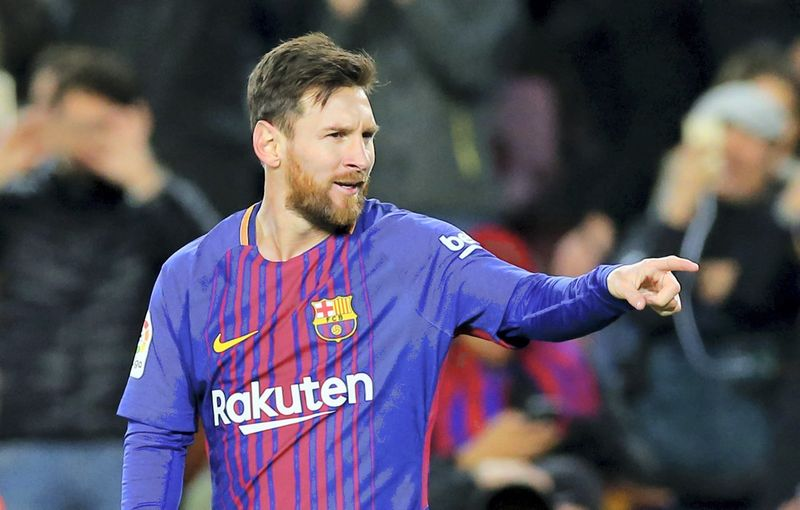 Lionelis Messi. Alberto Gea (Reuters / Scanpix) nuotr.