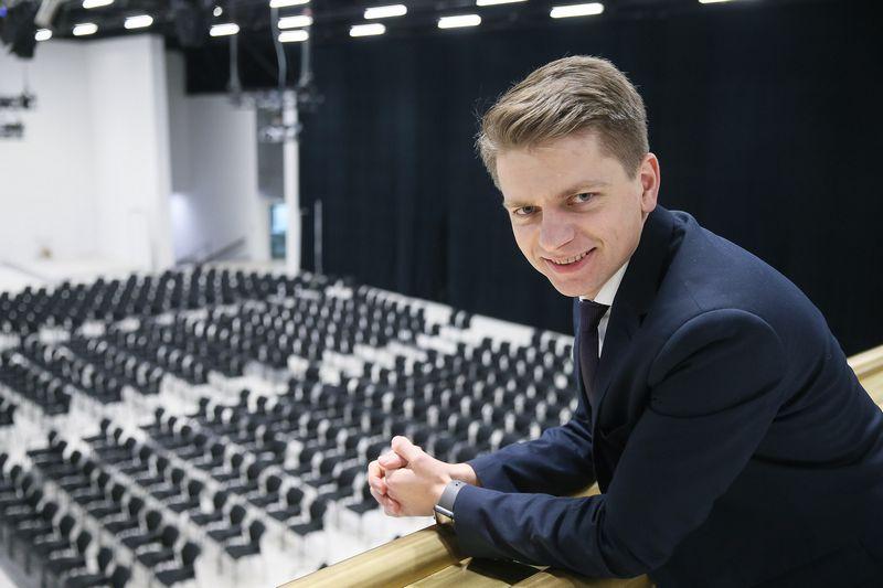 """Justinas Bortkevičius, L.e.p """"Litexpo"""" direktorius. Vladimiro Ivanovo (VŽ) nuotr."""