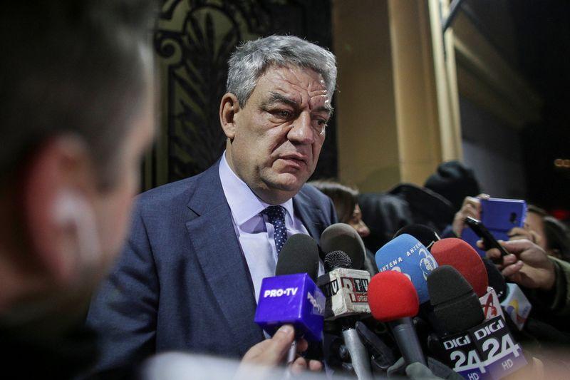 "Atsistatydinęs Ruunijos premjeras Mihai Tudose. Octav Ganea (""Reuters"" / ""Scanpix"") nuotr."