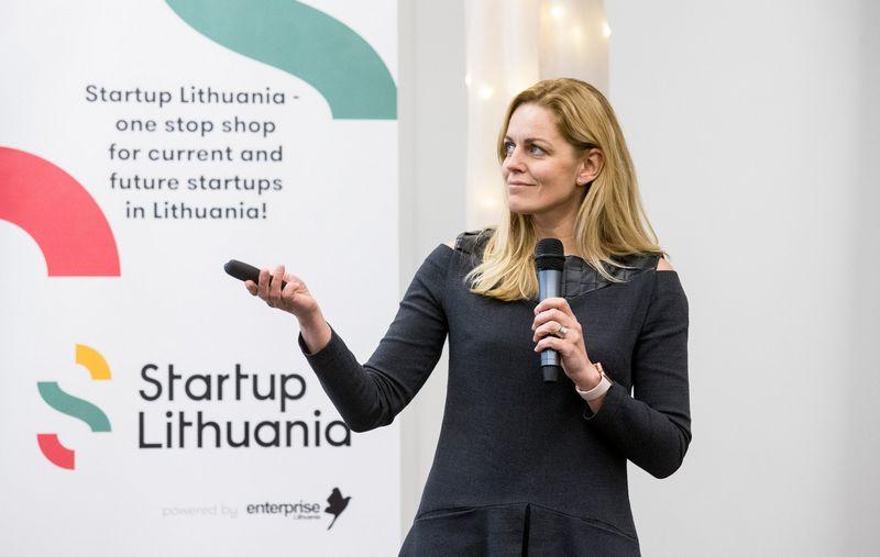 """Roberta Rudokienė, """"Startup Lithuanios"""" vadovė: """"Viena pagrindinių priežasčių, kodėl ne visos paraiškos patvirtinamos, – inovatyvumo stygius."""" Juditos Grigelytės (VŽ) nuotr."""