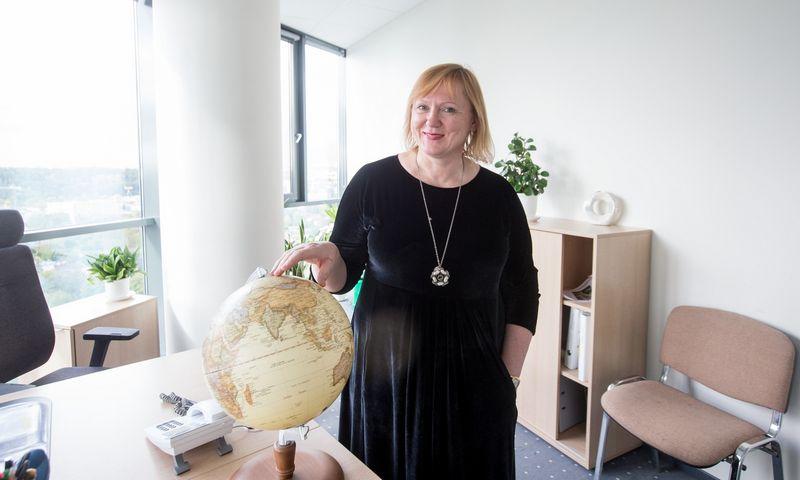 """Daiva Gerulytė, UAB """"Kofinansavimas"""" direktorė: """"Įmonės pristato gausybę įvairių projektų ir domisi kofinansavimo galimybėmis."""" Juditos Grigelytės (VŽ) nuotr."""