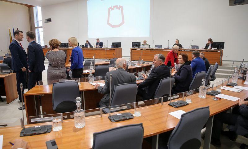 Vilniaus savivaldybės tarybos posėdyje bus pristatytas šių metų sostinės biudžeto projektas. Vladimiro Ivanovo (VŽ) nuotr.