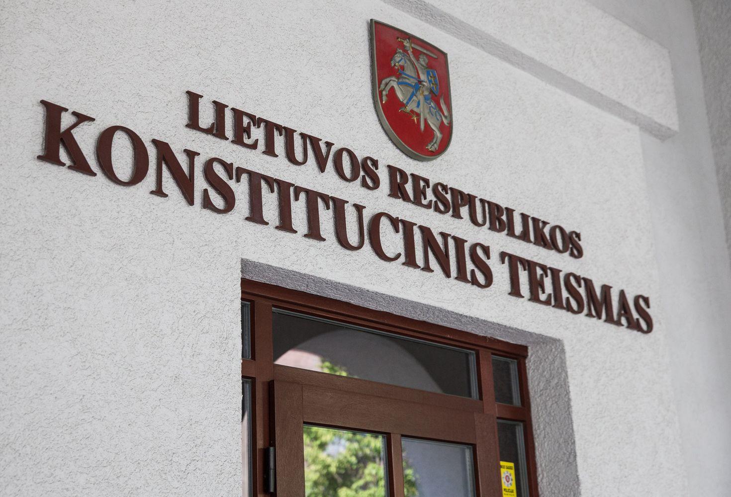 Opozicija Konstituciniam Teismui skundžia komisiją LRT veiklai tirti