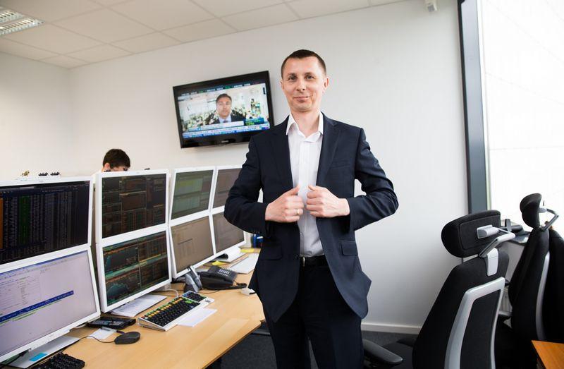 Arvydas Jacikevičius, finansų makleris, investavimo specialistas. Juditos Grigelytės (VŽ) nuotr.