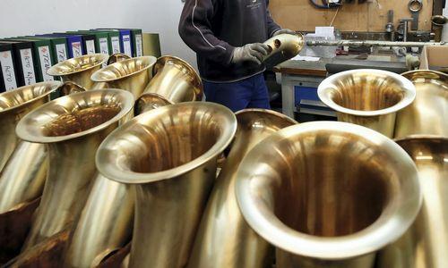 Garsioji muzikos instrumentų gamykla neatlaikė kinų konkurencijos