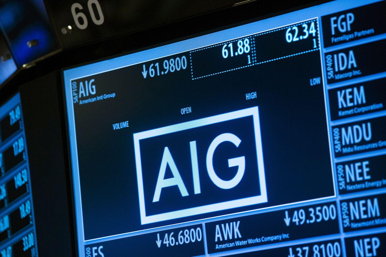 AIG atliks įsigijimą už 5,6 mlrd. USD