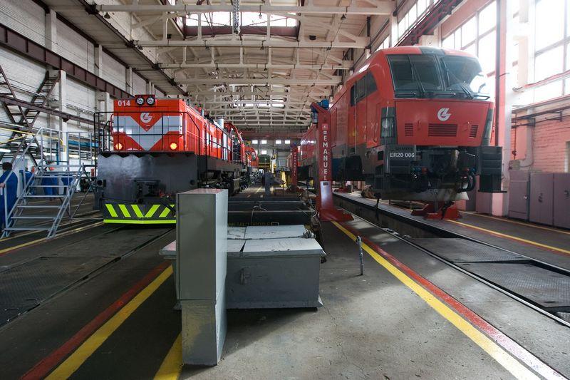 Vilniaus lokomotyvų remonto depas. Juditos Grigelytės (VŽ) nuotr.