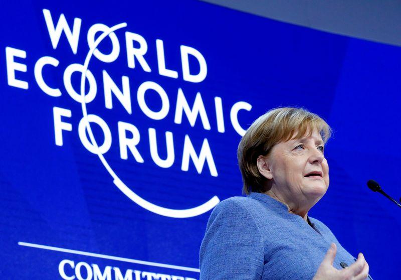 "Vokietijos kanclerė Angela Merkel. Deniso Balibouse'o (""Reuters"" / ""Scanpix"") nuotr."