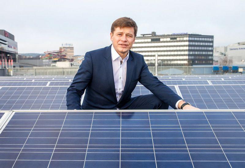 """Ruslanas Sklepovičius, """"Modus Group"""" valdybos narys, atsakingas už atsinaujinančios energetikos verslo projektus: """"Biodujų energetikos verslui Baltarusijos rinka patraukli dėl savo dydžio ir valstybės siekio kryptingai vystyti šį sektorių."""" Juditos Grigelytės (VŽ) nuotr."""