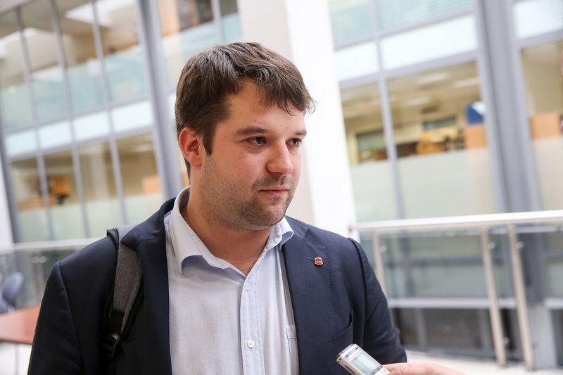 Povilas Poderskis, Vilniaus miesto savivaldybės administracijos direktorius. Vladimiro Ivanovo (VŽ) nuotr.