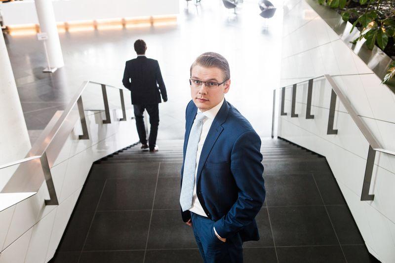 """Edgaras Mickus yra """"Swedbank"""" Privačiosios bankininkystės finansinio turto valdymo srities vadovas.  Juditos Grigelytės (VŽ) nuotr."""