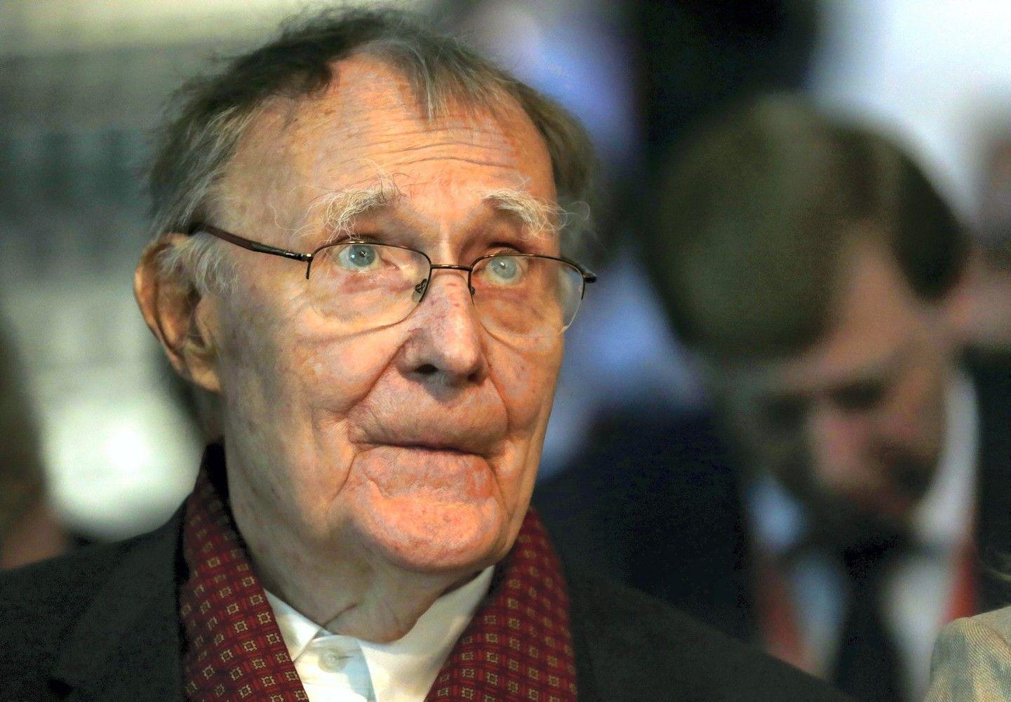 Mirė IKEA įkūrėjas I. Kampradas