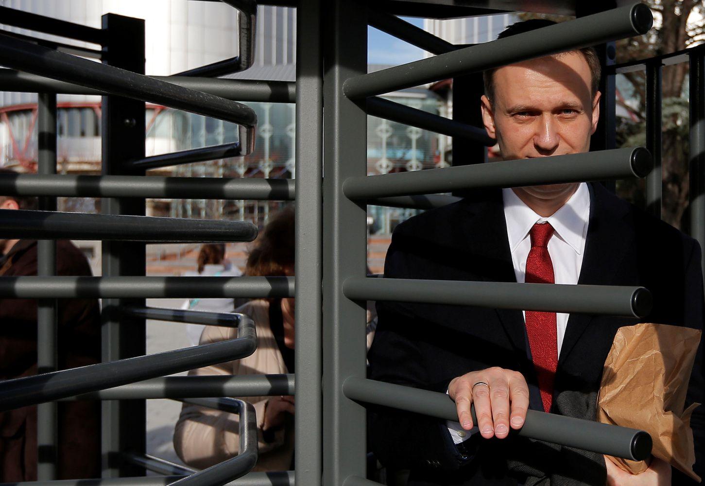 Rusijos opozicijos lyderis paleistas į laisvę