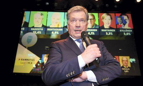 SuRusija toliaubendrauti pasiruošęs Niinisto perrinktas Suomijos prezidentu