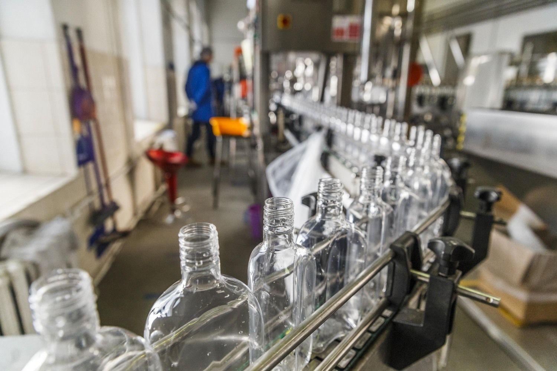 Eksporto mastą didino alkoholis