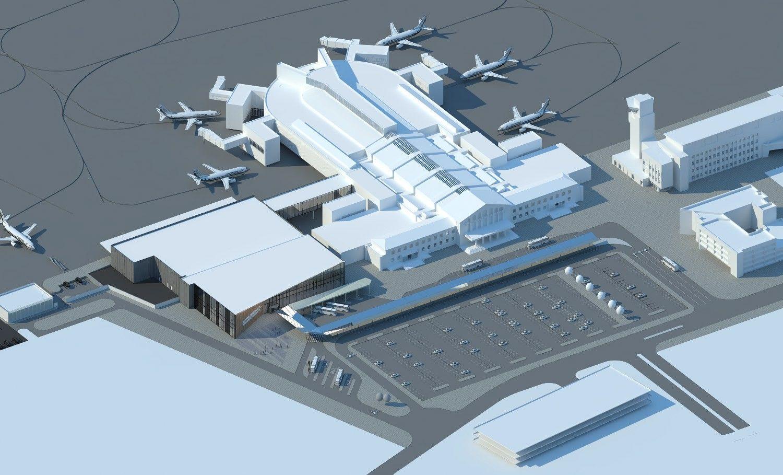 Už 60 mln. Eur modernizuos Vilniaus oro uosto terminalą