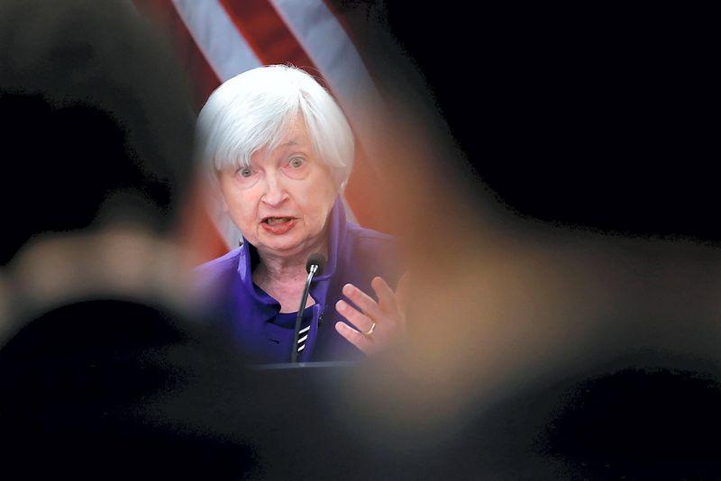 "Janet Yellen, FED vadovė. Jonathano Ernsto (""Reuters"" / ""Scanpix"") nuotr."