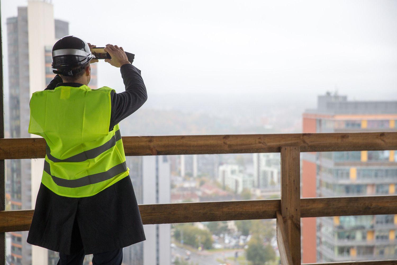 Metų pradžia atgaivino statybų sektoriaus pasitikėjimą