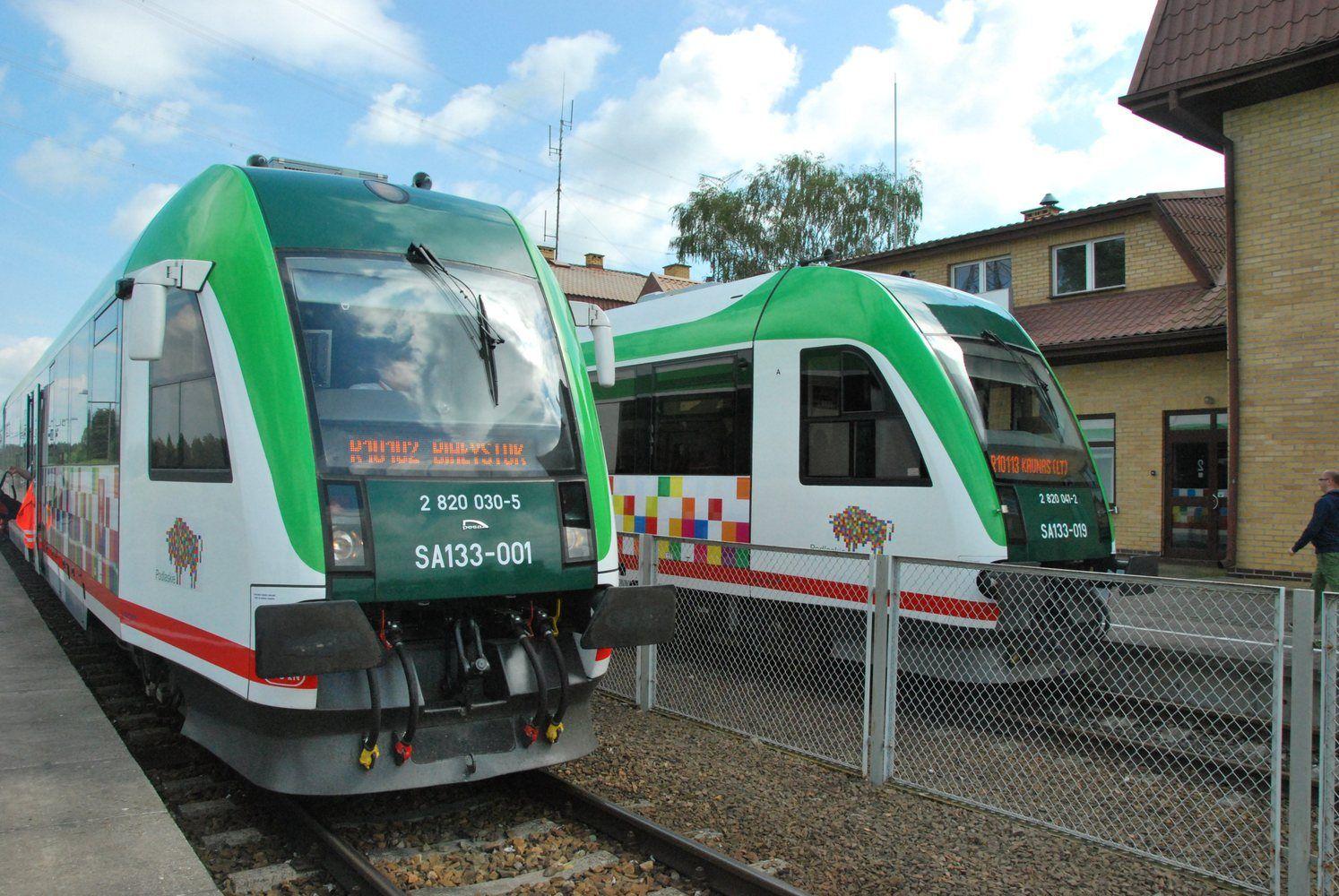 """Paaiškėjo tiksli """"Rail Baltica"""" vėžė nuo Kauno ir Latvijos sienos"""