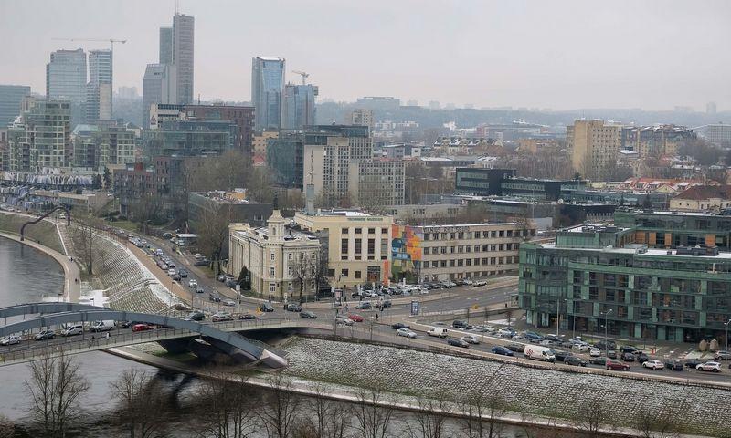 Vilniaus panorama nuo Gedimino kalno. Vladimiro Ivanovo (VŽ) nuotr.