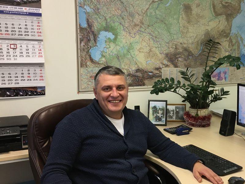 """Gintaras Kivylius, UAB """"Statecha"""" direktorius Įmonės nuotr."""