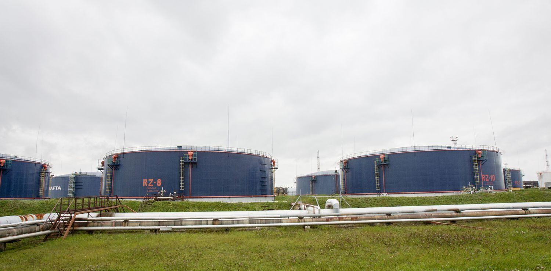 """Orlen Lietuva"" atidarė naują naftos rezervuarą Būtingės terminale"