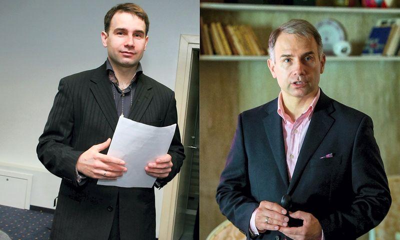 """Petras Masiulis """"Tele2"""" vadovu paskirtas lygiai prieš 15 metų ir vieną dieną – 2003 m. vasario 1 d. Vladimiro Ivanovo (VŽ) nuotr."""