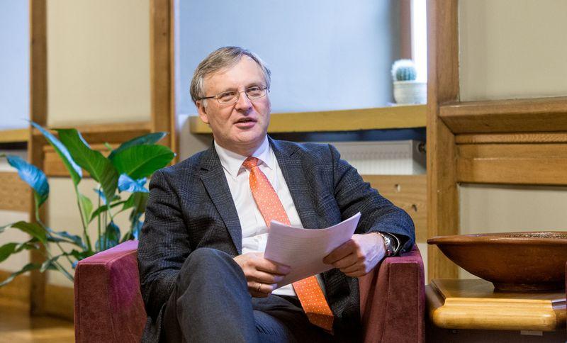 Artūras Žukauskas, Vilniaus universiteto rektorius. Juditos Grigelytės (VŽ) nuotr.