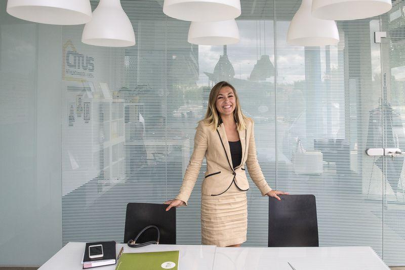 """Viktorija Vanagė, """"Citus"""" investicijų direktorė: """"Žmogus gali prisistatyti labai gražiai, bet viską parodo atlikta užduotis, kartais ir reakcija ją gavus."""" Vladimiro Ivanovo (VŽ) nuotr."""