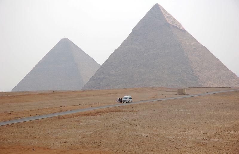 Egipto piramidės Nijolės Talutytės nuotr.