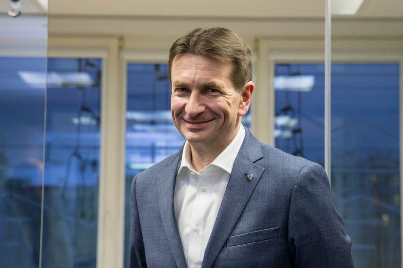 """Darius Maikštėnas, UAB """"Lietuvos energija"""" valdybos pirmininkas ir generalinis direktorius. Juditos Grigelytės (VŽ) nuotr."""