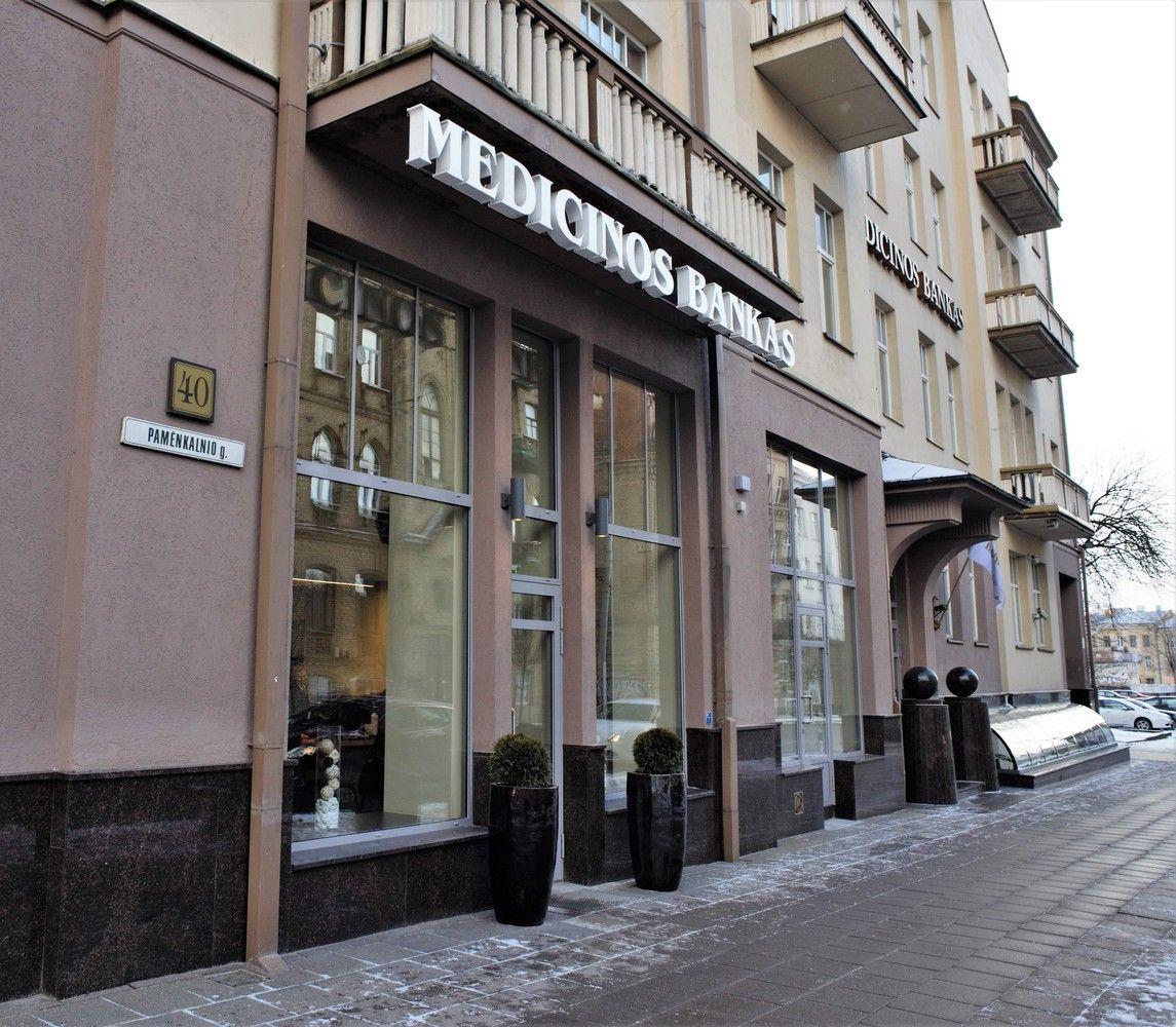 Medicinos bankasgreitina paskolų verslui išdavimą