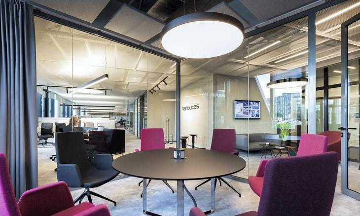"""""""Narbutas"""" kuria sveiką ir komfortišką biurą"""