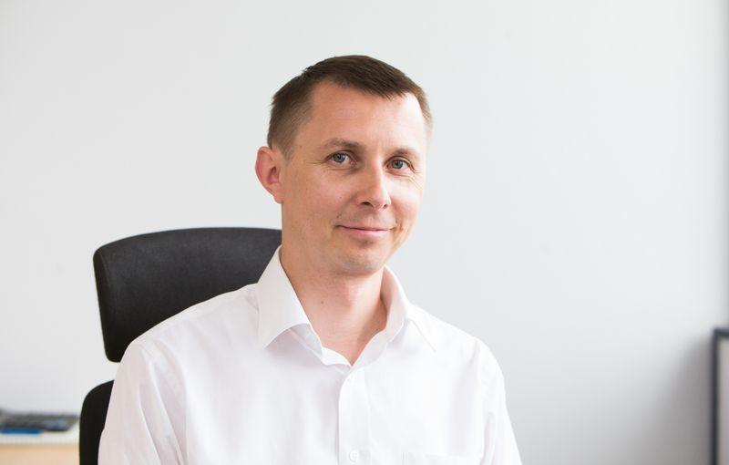 Arvydas Jacikevičius, investavimo specialistas ir finansų makleris. Juditos Grigelytės (VŽ) nuotr.