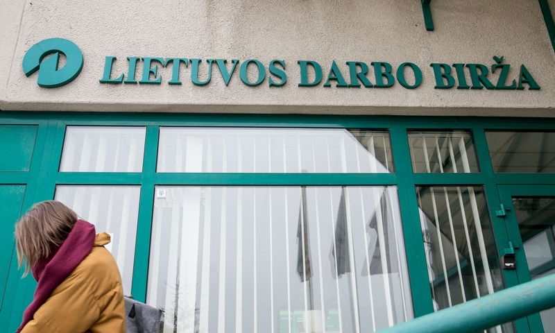 2017 02 01. Lietuvos darbo birža. Juditos Grigelytės (VŽ) nuotr.