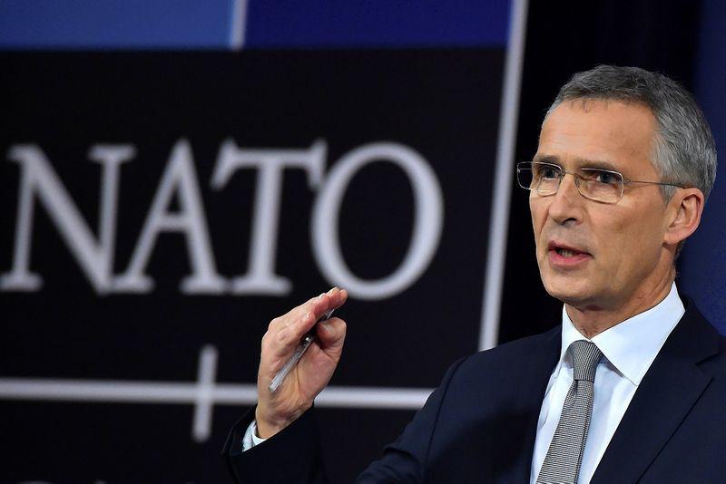 Jensas Stoltenbergas, NATO generalinis sekretorius. Erico Vidalio (Reuters / Scanpix) nuotr.