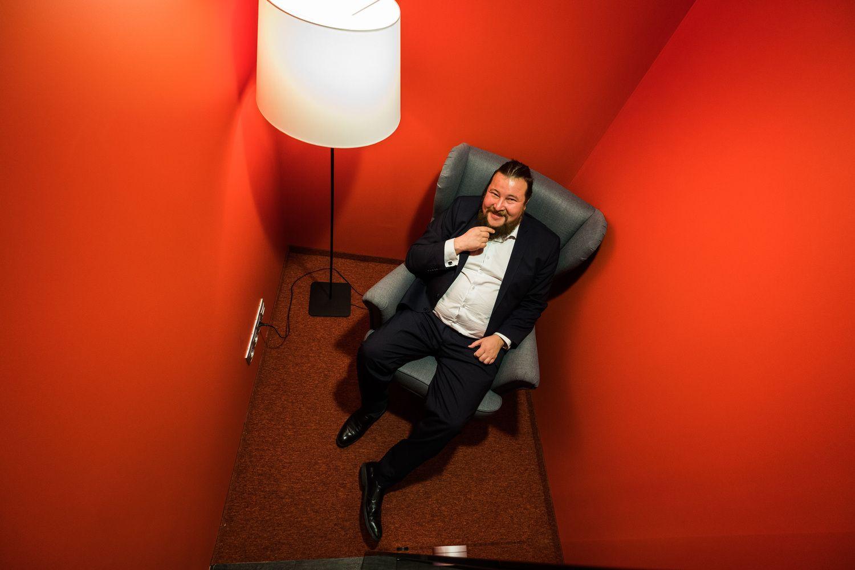 """""""Telesofto"""" vadovo A. Stonio portretas: pirmiau optimizmas, paskui skaičiai"""