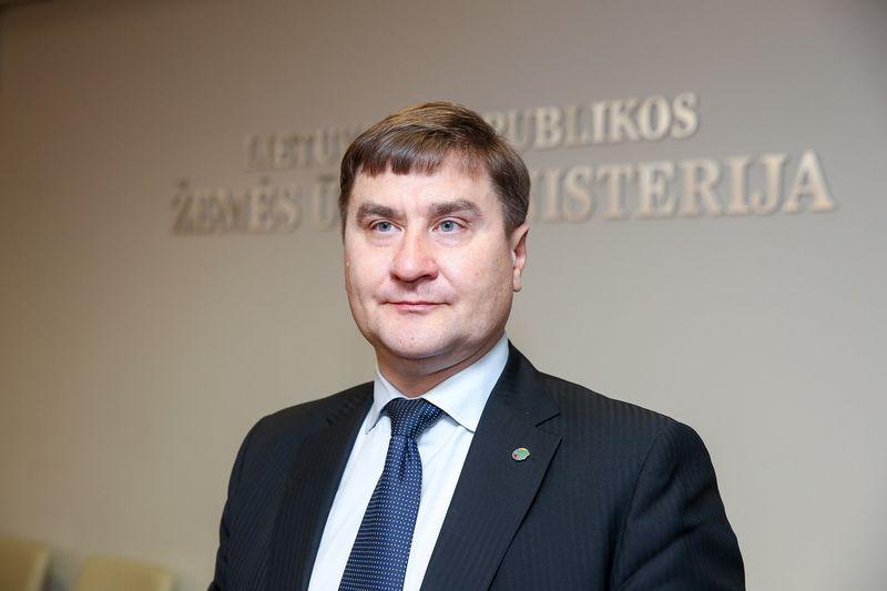 Laimonas Čiakas, Nacionalinės žemės tarnybos (NŽT) vadovas. Vladimiro Ivanovo (VŽ) nuotr.